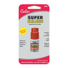 CALA Super Nail Glue Clear Fingernail Art MADE IN USA Adhesive Bond Fake Acrylic