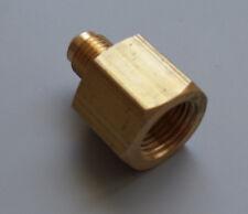 Reduzierung Adapter Gerade Verschraubung M 1/4 x F 3/8 Klimaanlage Kältemittel