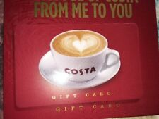 Limited Edition Costa Coffee UK Card - Purple Gift Card -New. no value