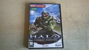 HALO COMBAT EVOLVED - HALO 1 PC GAME - FAST POST ORIGINAL & COMPLETE WITH MANUAL