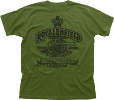 Royal Enfield T shirt Made Like A Gun Motorcycle Biker casual tee USA size S-3XL