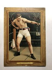 Al Kurfman 1911 T9 Turkey Red Checklist Back Vintage Boxing HOF #73 Rare