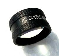 78D Lens Black Colour In Wooden Box With Instruction Manual Free Shipping Medico
