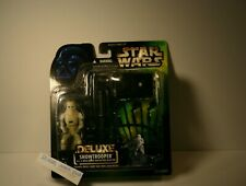 Star Wars Deluxe Snowtrooper with E-Web Heavy Repeating Blaster Action Figure