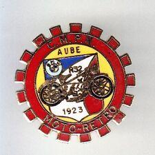 TRES RARE PINS PIN'S .. POLICE NATIONALE MOTO BMW R32 1923 CMPN AUBE 10 ~BL