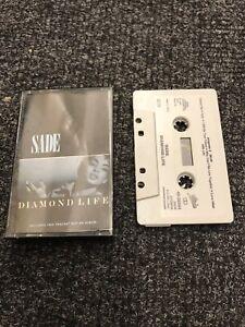 SADE - Diamond Life (UK)    / Cassette Tape Album