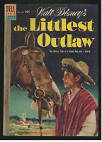 Walt Disney's The Littlest Outlaw, Four Color #609, Dell Comic Book, GD-VG