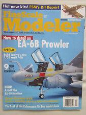 FINE SCALE MODELER 4/2005 F-16CJ EA-6B PROWLER SIKORSKY SH-34J AS-90 HOWITZER