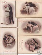 "# INNAMORATI..""ARDENTI"": 5 CARTOLINE 1915"