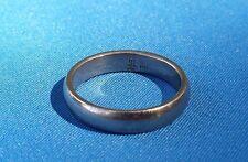 James Avery Palladium White Gold Narrow Athena Wedding Band Ring - Size 7