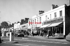 PHOTO  1972 COULSDON CHIPSTEAD VALLEY ROAD WHEN WOOLWORTH'S WAS STILL GOING STRO