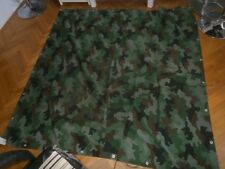 Federal Yugoslav Army (1992-2006) camouflage tent flap - used