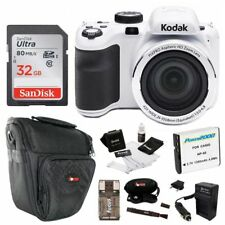 White 16 Megapixels Digital Camera with 42X Optical Zoom and 3 LCD Screen