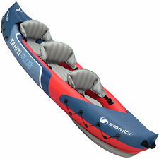 Sevylor Tahiti Plus Kayak Freizeitkajak Bateau Luftkajak 3P Gonflable Bleu