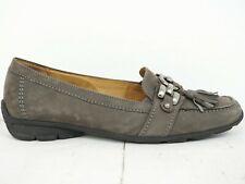 GEOX Hovercraft 💠 Damen Mokassins Halbschuhe Gr. 37.5 (4.5) Leder Woman Shoe