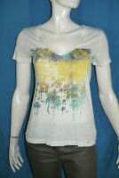 IKKS  Taille M - 38 Superbe  tee shirt manches courtes femme haut top T-shirt be