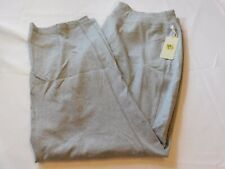 Halcyon Women's Ladies Casual Lounge Yoga Pants Grey Heather Size Variations NWT
