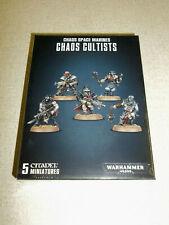 Warhammer 40K CHAOS CULTISTS Box Set!! Brand New+Sealed!!