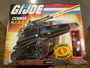 Hasbro G.I. Joe Cobra Hiss Tank MISB with Driver Action Figure walmart exclusive