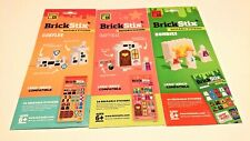 BrickStix Reusable Stickers (Zombies,Castles and Fairytales) Lego Compatible
