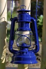 Feuerhand Storm Linterna 'Eternity' azul linterna Mecha Petróleo