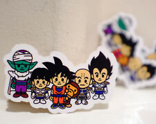 "#4497 Baby Milo Bape x Dragon Ball Goku Vegeta Japan Imports 3x2"" DECAL STICKER"