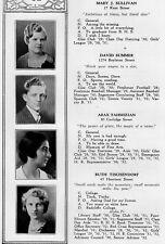 1932 Brookline High School Yearbook~Photos~History~Football~Tennis~Debate~MA~++