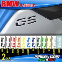 2 Adesivi Serbatoio Moto BMW R 1200 gs adventure LC per incasso