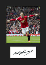 WAYNE ROONEY #1 Signed Photo Print A5 Mounted Photo Print - FREE DELIVERY
