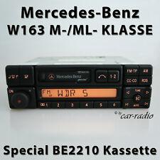 Original Mercedes Special BE2210 Becker W163 Autoradio M- ML-Klasse Kassette RDS