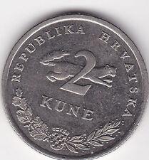2 Kune Croazia 2005 TONNO tunj Tunny Hrvatska prima di mantenimento