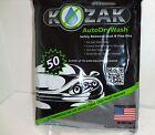 Kozak  Auto Dry Wash Cloth Car Motorcycles Bikes No Water 80153 3.8 sq ft USA