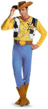 Disney Toy Story Woody Classic Adult Mens Cowboy Fancy Dress Up Costume