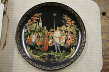 Bradex *The Priest and His Servant Balda* Collector plate No. 60-V25-1.7 1989