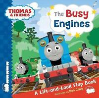 Busy Engines Lift-the-Flap Book (Thomas & Friends),    Hardcover Book   Good   9