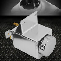 "304 Stainless Steel 3"" Polish Power Steering Remote Reservoir NO BAFFLE"