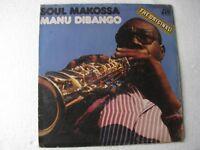 Soul Makossa Manu Dibango LP Record World India-1529