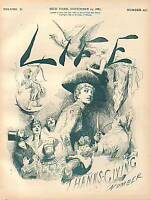 1887 Life November 24 - Chicago Anarchists are hanged
