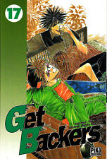 GET BACKERS    MANGA  N° 17   PIKA  EDITION