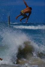 568046 High Jump Off The Skim Board Baldwin Park Maui A4 Photo Print