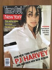 PJ Harvey Time Out New York Issue #267 09/2000 Stories From The City LP CD Rare