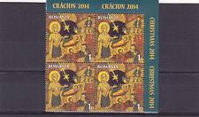 Romania, 2014,Christmas,Jesus,religion,Mary,wise man,star,block,MNH