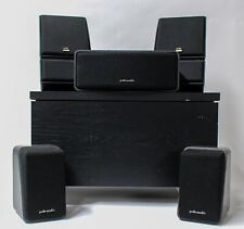 Polk Audio Mixed Surround Sound Speaker Lot - Front, Back, Center, Sub