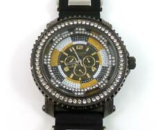 Techno King 5095GB Iced Lage Face Hip Hop Men's Watch QX