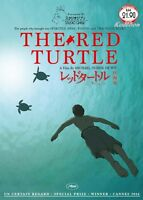 DVD Japan THE RED TURTLE Studio Ghibli Dialogue-Less Movie All Region