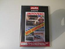 DVD AUTO PASSION AUTOVIDEO N° 5 Bruno Saby MONTE CARLO 2007 CHAMPIONS 1984 LAUDA