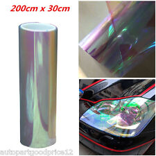 200x30cm Chameleon Colorful Clear Autos Headlight Tail/Fog Light Vinyl Tint Film