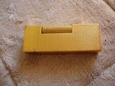 Vintage MaruMan 22K gold plated lighter Made in Japan