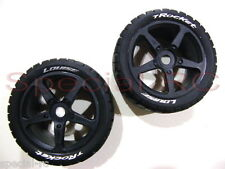 Louise RC 1/8 Truggy Tires Rocket w/ 0 offset wheels (2pcs)  L-T3250SB