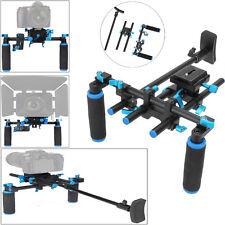 Commlite CS-V1 Aluminum Shoulder Mount Video Support Bracket Rig for DSLR Camera